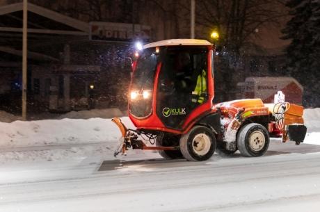Informācija par Jelgavā veiktajiem ziemas darbiem aizvadītajā diennaktī