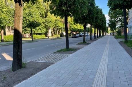 Pabeigts ietves remonts Katoļu ielā