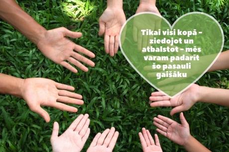 KULK ziedoja dāvanu kartes Latvijas bērnu fondam
